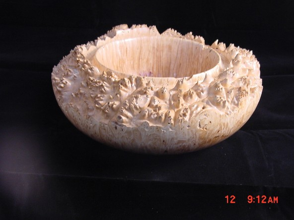 Mike Rodda Oak Burl